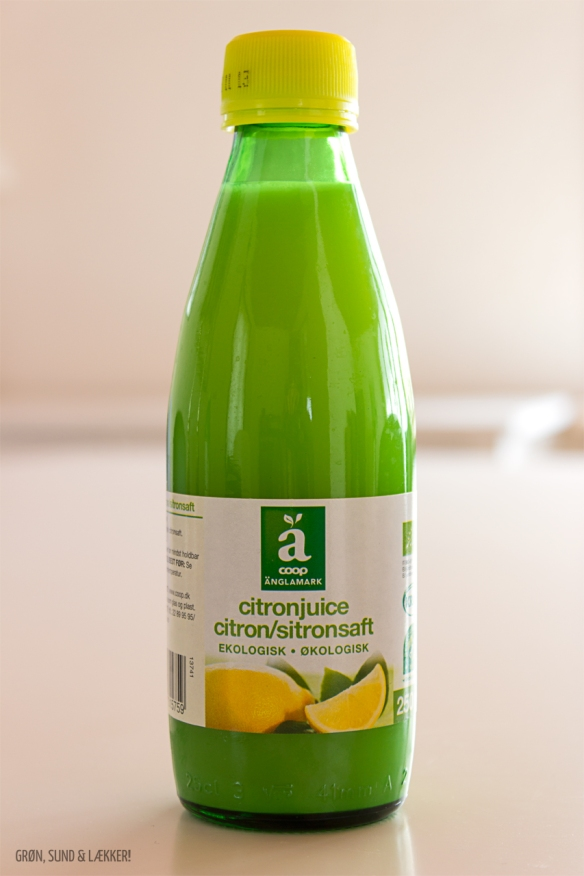 Citronsaft